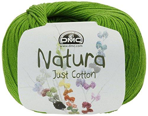 DMC Hilo Natura, 100% algodón, Color Verde Chartreuse