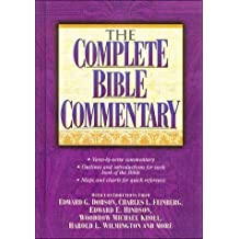 The Complete Bible Commentary by Edward G. Dobson (1999-02-01)