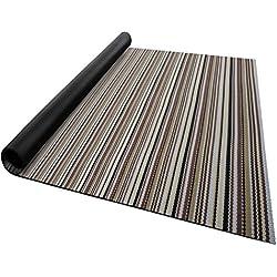 casa pura Tapis pour intérieur et extérieur Asti | Tailles diverses | au mètre - matière très résistante, Facile d'entretien | 60x150cm