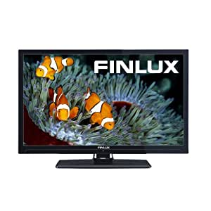 Finlux 22F6050 22-inch Widescreen Full-HD 1080p LED TV with Built-In Freeview - Black (2013 model)