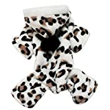 Phenovo Winter Puppy Hoodie Pet Dog Coat Outdoor Clothes Dog Supplies Clothing Shoes - brown, S