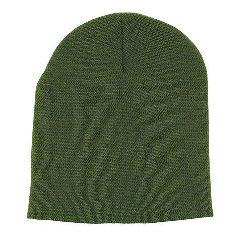 Knit Army Cap (Fox Outdoor Produkte Beanie Knit Cap, Herren, Laubgrün)