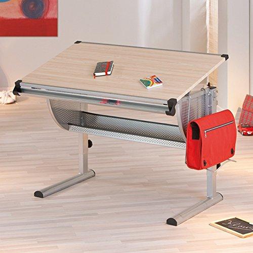 Links 50600450 Schreibtisch, Kinderschreibtisch Schülerschreibtisch höhen- und neigungsverstellbar, ahorn - 7