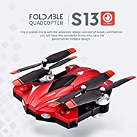 Price comparsion for Dailyinshop S13 4 Channel 6 Axes Long Endurance Remote Control Quadcopter Camera Drone UAV Positioning System Aircraft with 0.3MP Camera(Color:silver)