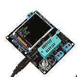 Hemobllo Probador de transistor LCD Voltaje Diodo Capacidad LCR Medidor NPN PNP SCR FET