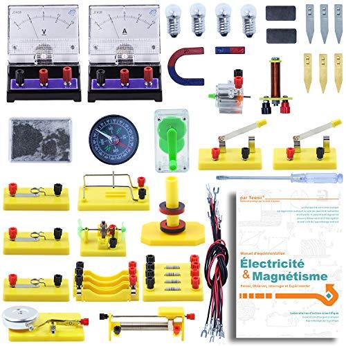 Teenii STEM Science Laboratoire de Physique Circuits de Base...