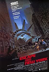 Escape from New York Poster Print (68.58 x 101.60 cm)
