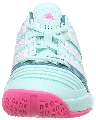 Adidas Womens Adipower Stabil 11 Chaussure Sport En Salle Bleu