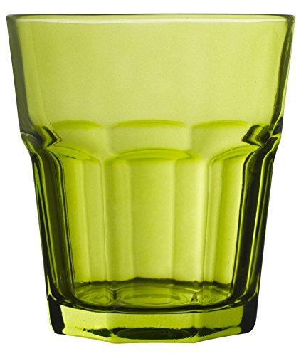 Novastyl 8013559.0Saint Raphael Bicchiere Forma Bassa vetro verde 8,7x 8,7x 9,5cm 30,5cl-set di 12