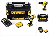 DeWalt DCD 796 M1 18 V Akku Schlagbohrschrauber Brushless 70 Nm im TSTAK mit 1x DCB 182 4,0 Ah Akku und DCB 105 Ladegerät