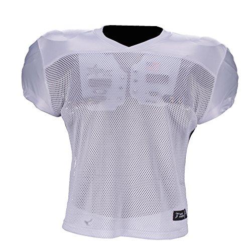 Active Athletics American Football Trainingsshirt weiß 2XL