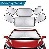 6 * Parasole per auto tutte finestra posteriore anteriore lato accessori auto pieghevole Parasole esterno facile prevenzione solare