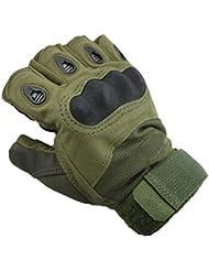 Accessorystation ® Fashion Sport Vert militaire Mitaines tactiques pour (taille M)
