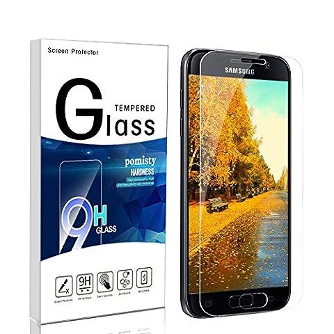 Galaxy S7 Panzerglas Schutzfolie,Pomisty S7 Displayschutzfolie Schutzfolie,Anti-Kratzen Glas Folie mit Samsung Galaxy