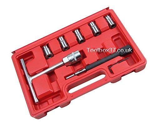Preisvergleich Produktbild Bergen - Professionelles 7-Teile Injektor Fräse Set BER5533