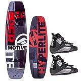 Hyperlite Motive 134 Package Wakeboard mit Wakeboardbindung