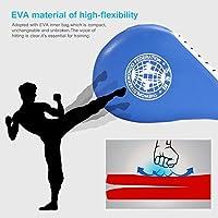 1Ud Almohadilla de Taekwondo Kick Pad Doble Capa Cojín Entrenamiento Artes Marciales - Azul
