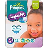 Pampers Active Fit Size 5 + (13-27kg) Economy Pack 6 x42 per pack by Pampers