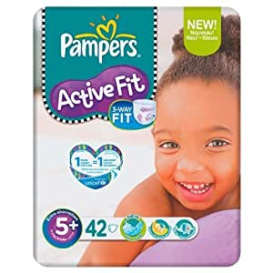 Pampers Active Fit Size 5+ (13-27kg) Economy Pack 6 x42 per pack