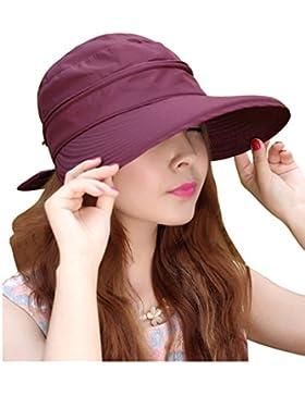 Paletó ala ancha para mujer Casual 2-in-1 de un ángulo de luz ultravioleta Traveler Golf diseño de sol de tenis...