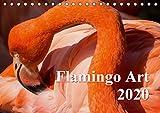 Flamingo Art 2020 (Tischkalender 2020 DIN A5 quer): Flamingo Art - Ein absoluter Blickfang im Büro und zu Hause (Monatskalender, 14 Seiten ) (CALVENDO Tiere) - Max Steinwald