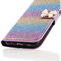 Samsung Galaxy S8 Plus 3D Butterfly Sunflower Bling Glitter Glitzer Diamond Musterg Ledertasche Slim Retro Bookstyle... preisvergleich bei billige-tabletten.eu