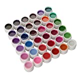 36 Farben UV Gel Farbgel Set Nagelgel