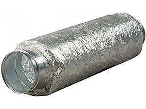 Silencieux souple pour extracteur d'air - Ø 150 mm - 60 cm - Vents - Srp150/500