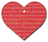 Geschenk-Anhänger Herz