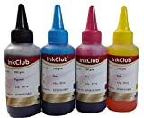 Inkclub 100ml*4 Compatible Ink for HP GT...