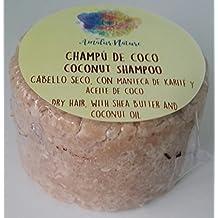 Champú sólido Coco - Cabellos secos - Con karité ...