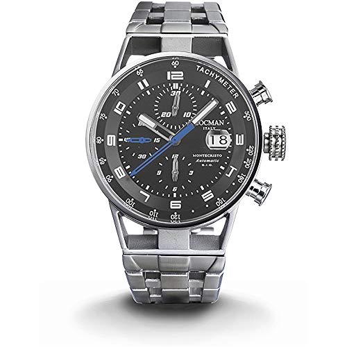 orologio multifunzione uomo Locman Montecristo casual cod. 0516A01S-00BKBLB0