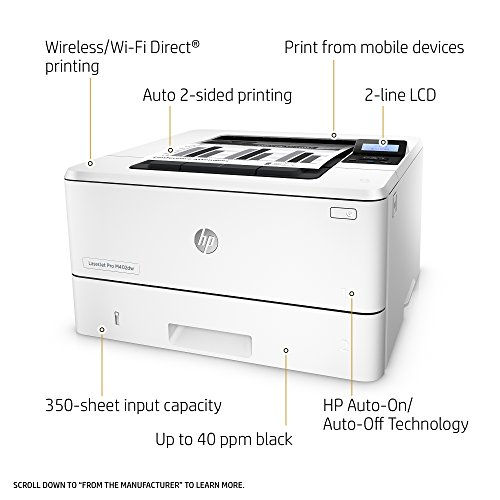 Cheap HP M402dw LaserJet Pro Monochrome Laser Printer on Line
