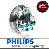Kit 2-Leuchtmittel Philips H1X-Treme Vision S212V 60/55W + 130%