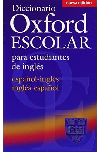 Diccionario Oxford Escolar para Estudiantes de Inglés