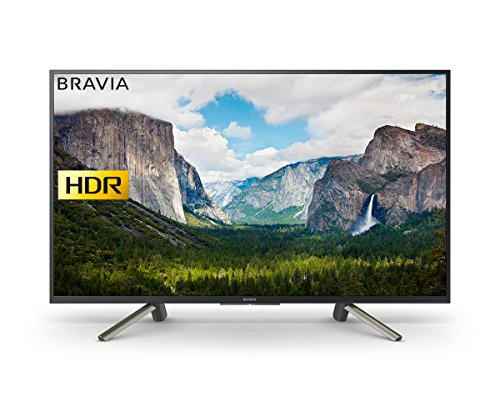 Sony Bravia Full HD HDR Smart TV with Freeview Play - Black, 2018