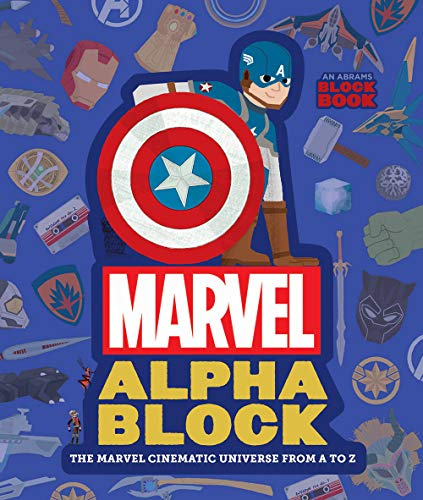 Marvel Alphablock:The Marvel Cinematic Universe from A to Z (An Abrams Block Book)