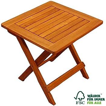sam garten tisch aus akazien holz fsc 100 zertifiziert beistelltisch aus massiv. Black Bedroom Furniture Sets. Home Design Ideas