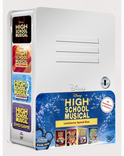 High School Musical Spind-Box [Limited Edition] [4 DVDs] - Serie Spind