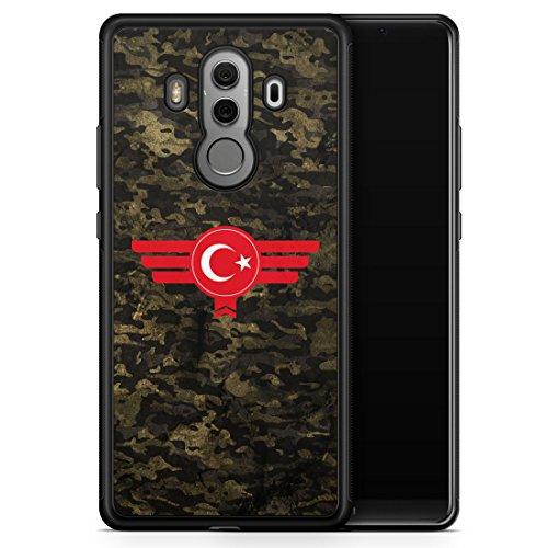 Huawei Mate 10 Pro Hülle SILIKON - Türkiye Türkei Camouflage - Motiv Design Militär Military - Handyhülle Schutzhülle Cover Case Schale (Türkei 10)