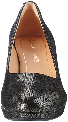 Clarks Damen Kelda Hope Pumps Beige (PEWTER Metallic)