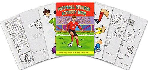 Football Mini Sticker Activity Book (Packung mit (Begünstigt Partei Piraten)