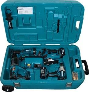 Makita DK1879 Combo-Kit 18 V (BDF454+BJV180+BHR202+BML185)