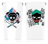 GB Eye Suicide Squad, Joker und Harley Twin Gläser, mehrfarbig, groß