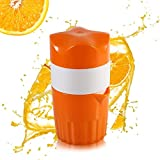 Presse-agrumes Manuel Portable,Oummit Extracteur de jus Pour Oranges et citron Presse-fruits Mini À Main,Retour à l'origine et Profitez du plaisir de presse fruits manuel,Parfait pour les enfants.