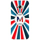 YuBingo Soft Silicone Designer Printed Mobile Back Case Cover For Samsung Galaxy S8 Plus | Majestic Letter M (Colourful, Stylish And Cool) | UV Printed | Waterproof | Shockproof | Slim | Light