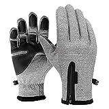F.lashes Herren Damen Touchscreen Handschuhe Trainingshandschuhe Sport Rutschfest Winter Winddicht Warme Thermal Skifahren Klettern Laufen Wandern Fahren