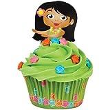Wilton 415-0825 Hula Girl Cupcake Decora...