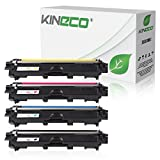 4 Toner kompatibel zu Brother TN-241 TN-245 für Brother MFC-9142CDN, Brother DCP-9022CDW, MFC-9342CDW, MFC-9332CDW, HL-3150CDW, HL-3170CDW - TN-241BK TN-245C TN-245M TN-245Y - Schwarz 2.500 Seiten, Color je 2.200 Seiten