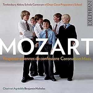 Mozart: Solemn Vespers K339 / Coronation Mass in C K317 / Ave verum corpus K618
